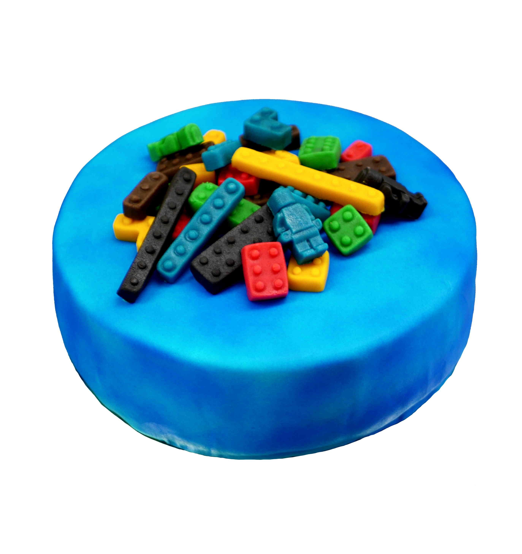 Baustein-Torte